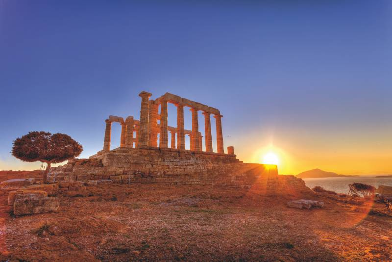 Poseidontempel - Kap Sounion © Fotolia