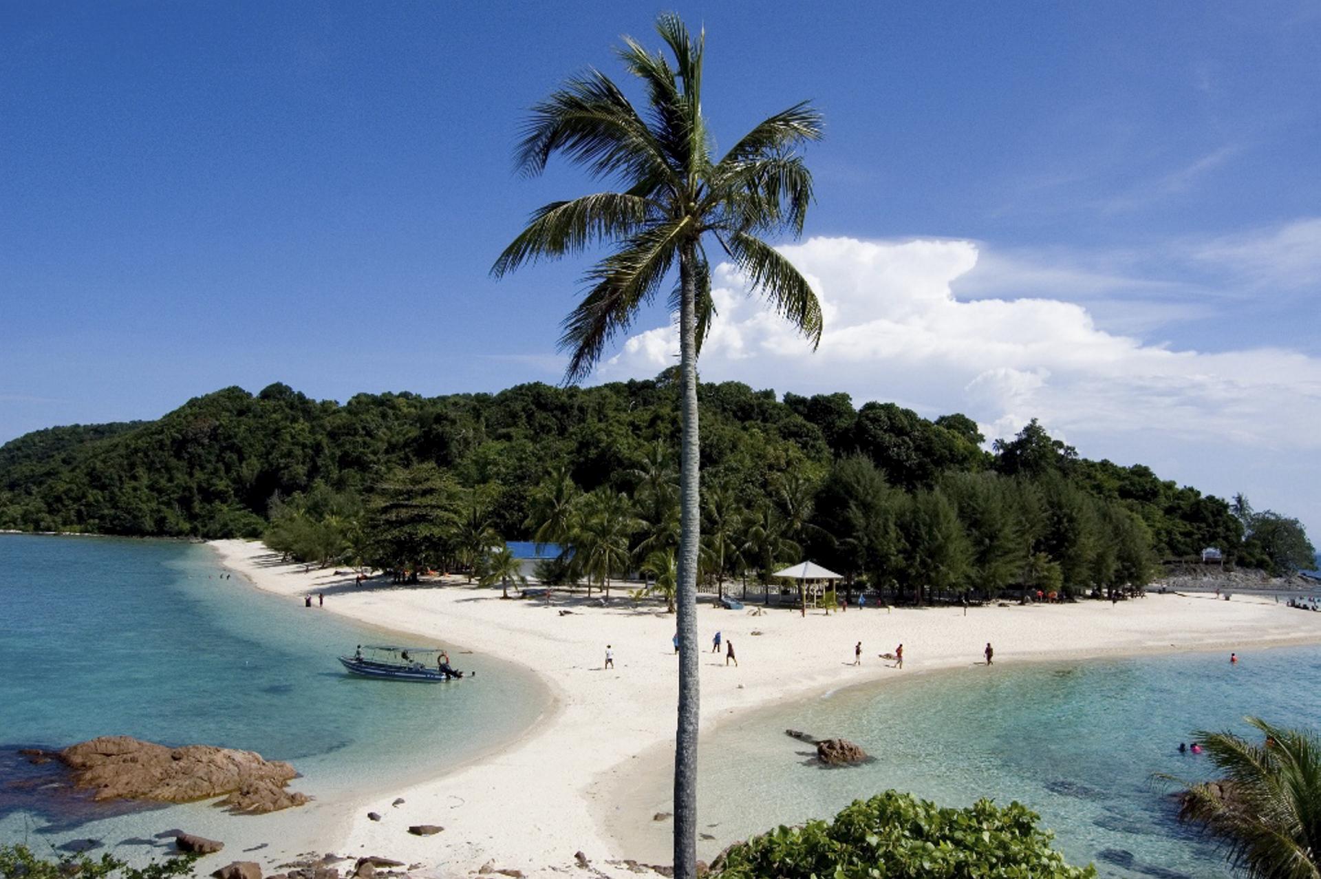 Strand von Redang Island