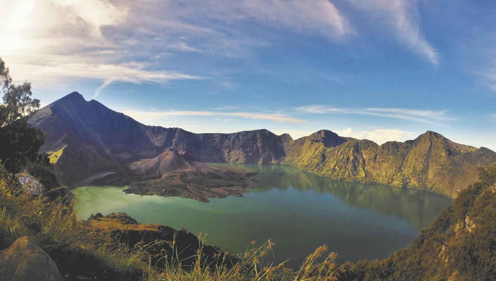 Mount Rijani auf Lombok