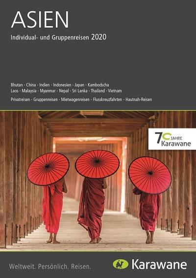 Karawane Reisen Asien Katalog 2020