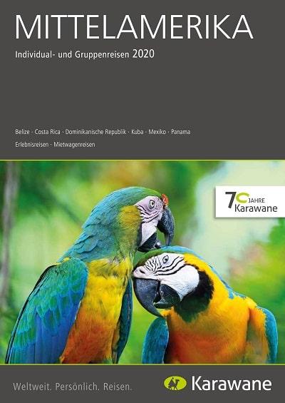 Karawane Reisen Mittelamerika Katalog 2020