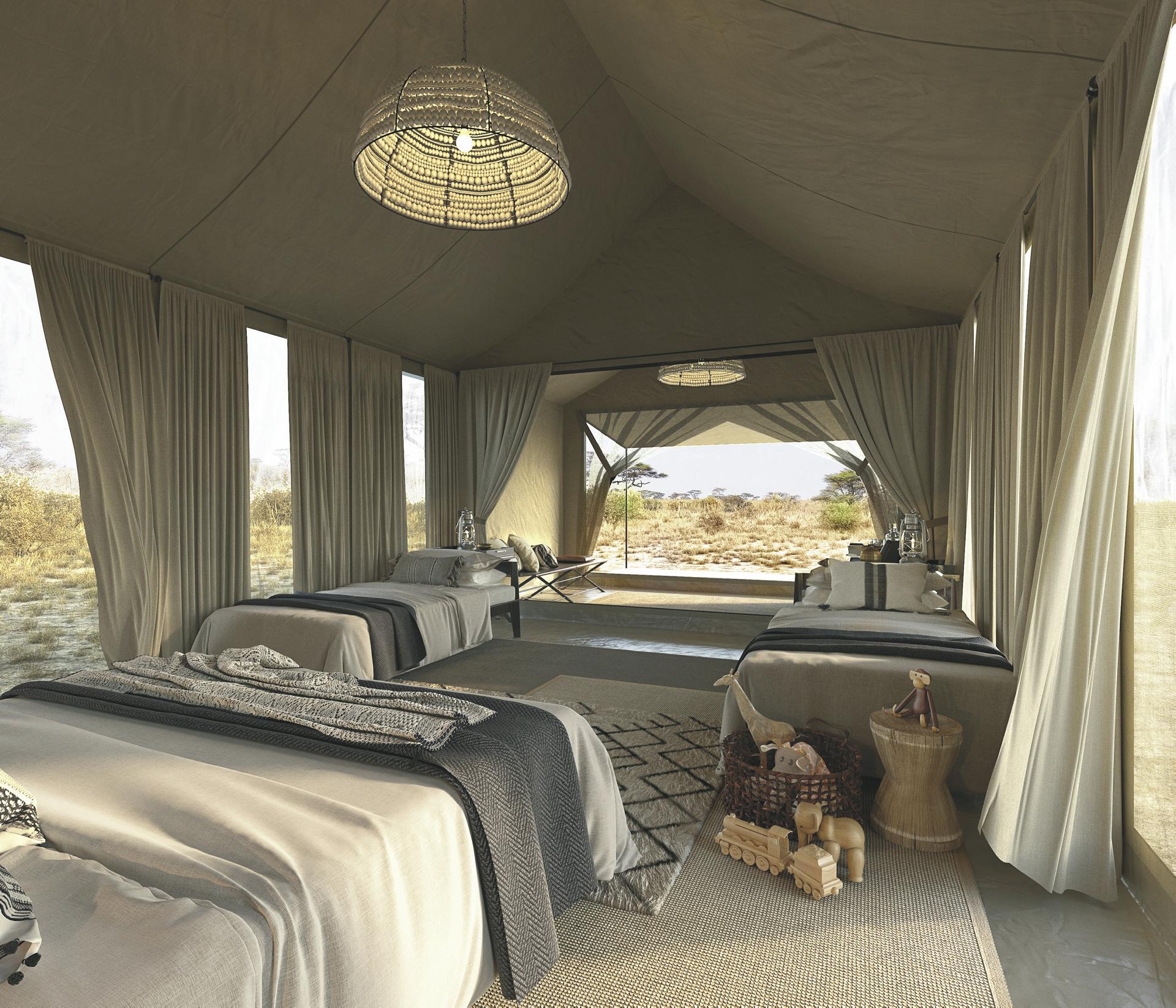 Safarizelt für Familien