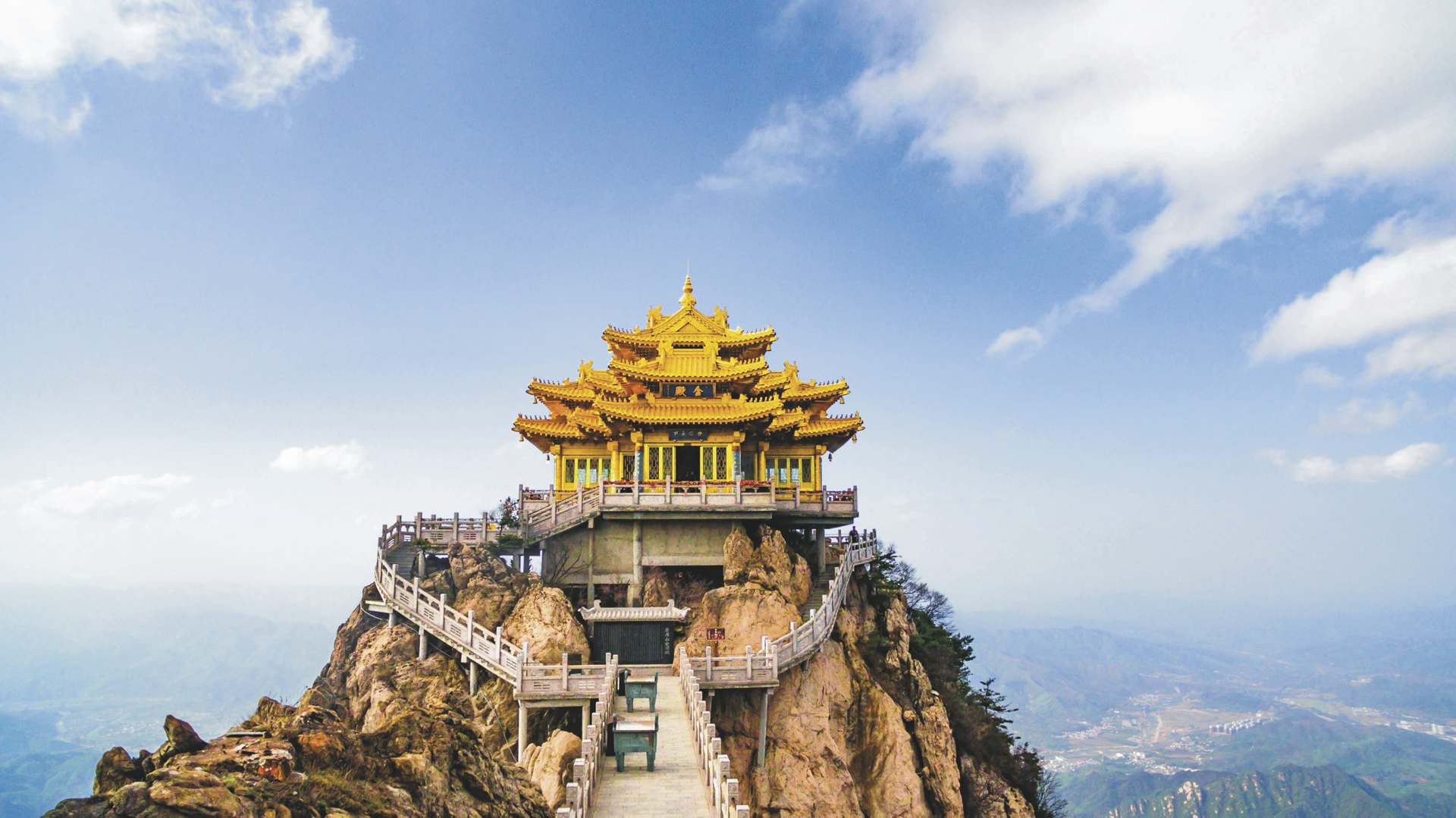 Goldener Tempel in Kunming