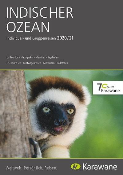 Karawane Reisen Indischer Ozean Katalog 2020