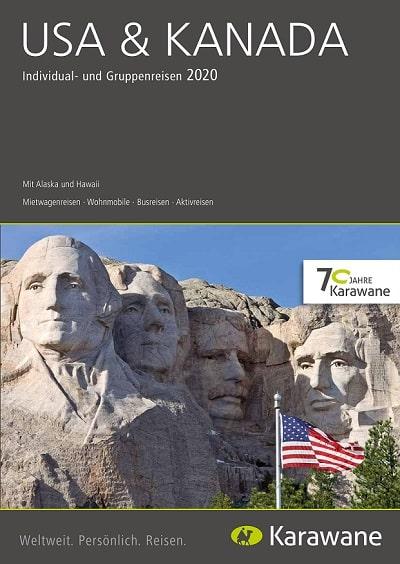 Karawane Reisen USA & Kanada Katalog 2020