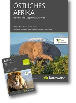 Karawane Reisen östliches Afrika Katalog 2020