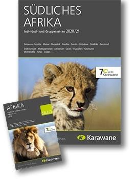 Karawane Reisen südliches Afrika Katalog 2020