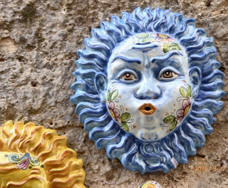 Erice, sizilianische Keramik