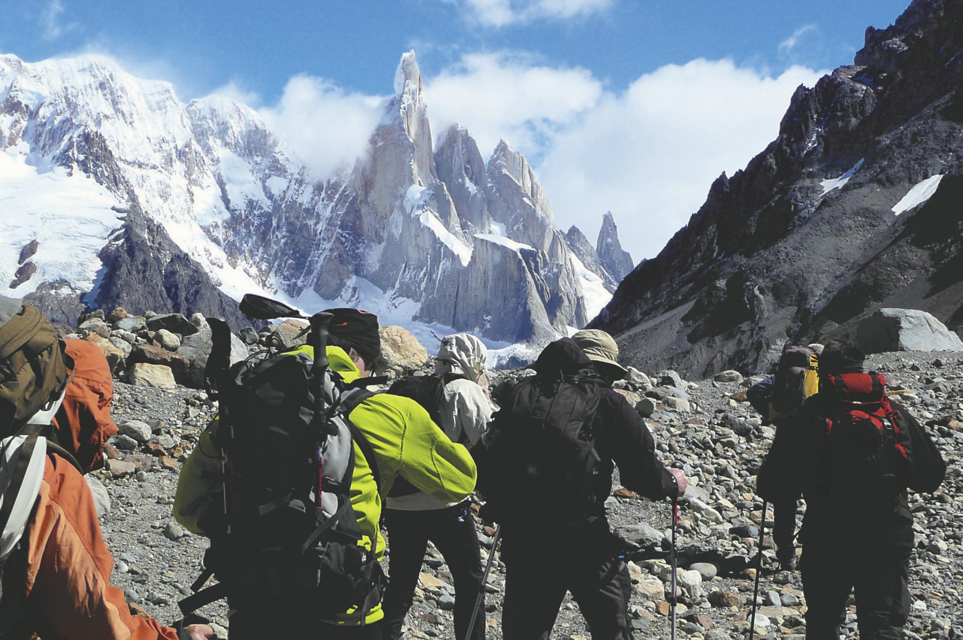 Auf dem Cerro Torre Trek in Patagonien  ©Moser active Chile
