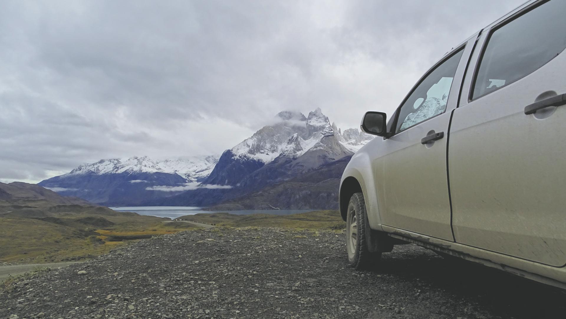 Unterwegs im Nationalpark Torres del Paine