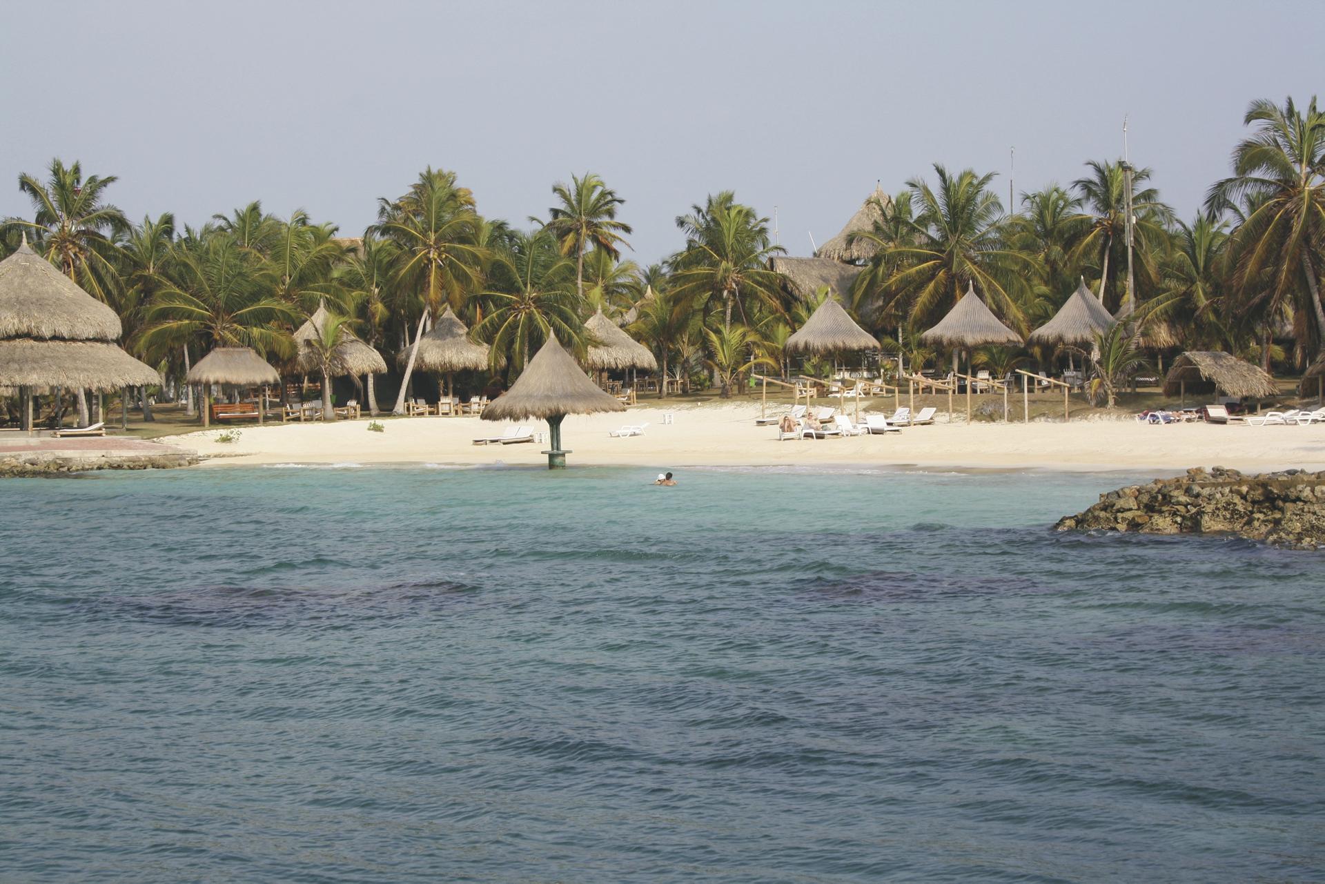Strand auf der Isla Mucura