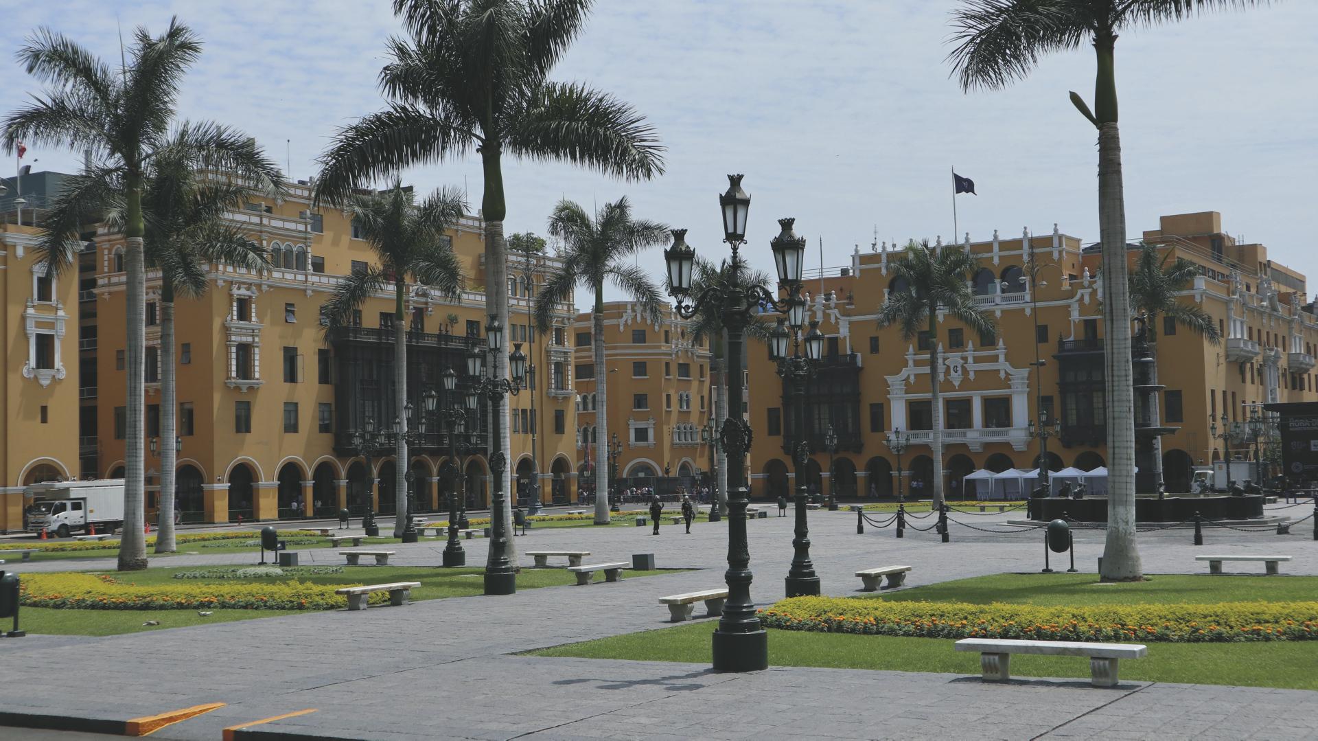 Lima Hauptplatz
