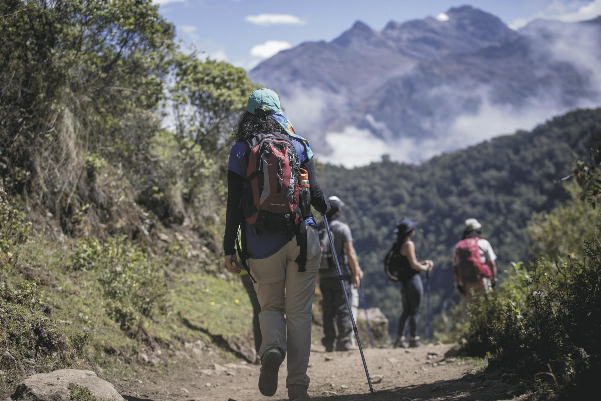 Unterwegs auf dem Salkantay Trail