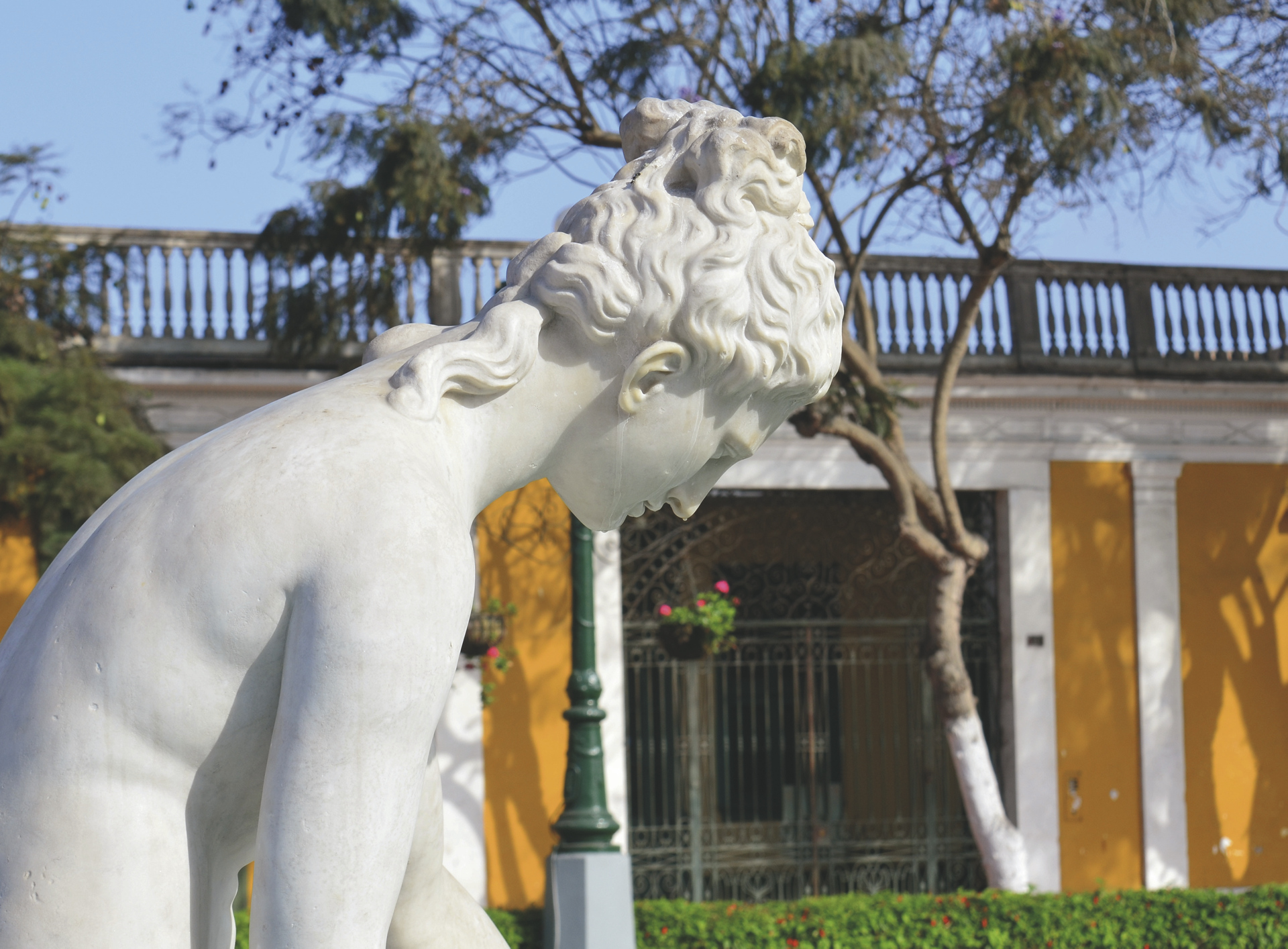 im Stadtteil Barranco