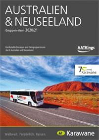 Karawane AAT Kings Australien und Neuseeland Katalog 2020