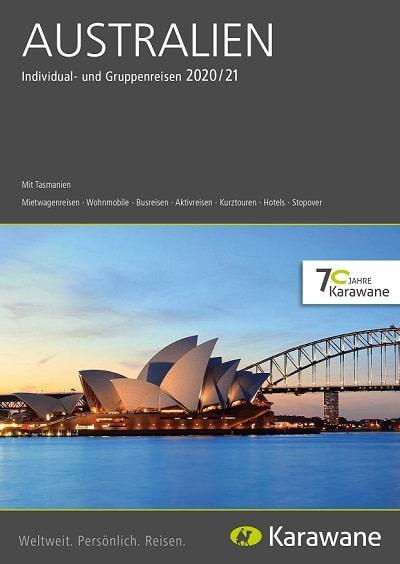 Karawane Reisen Australien Katalog 2020