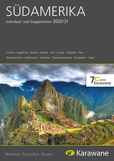 Karawane Reisen Südamerika Katalog 2020