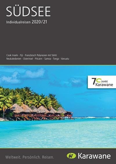 Karawane Reisen Südsee Katalog 2020
