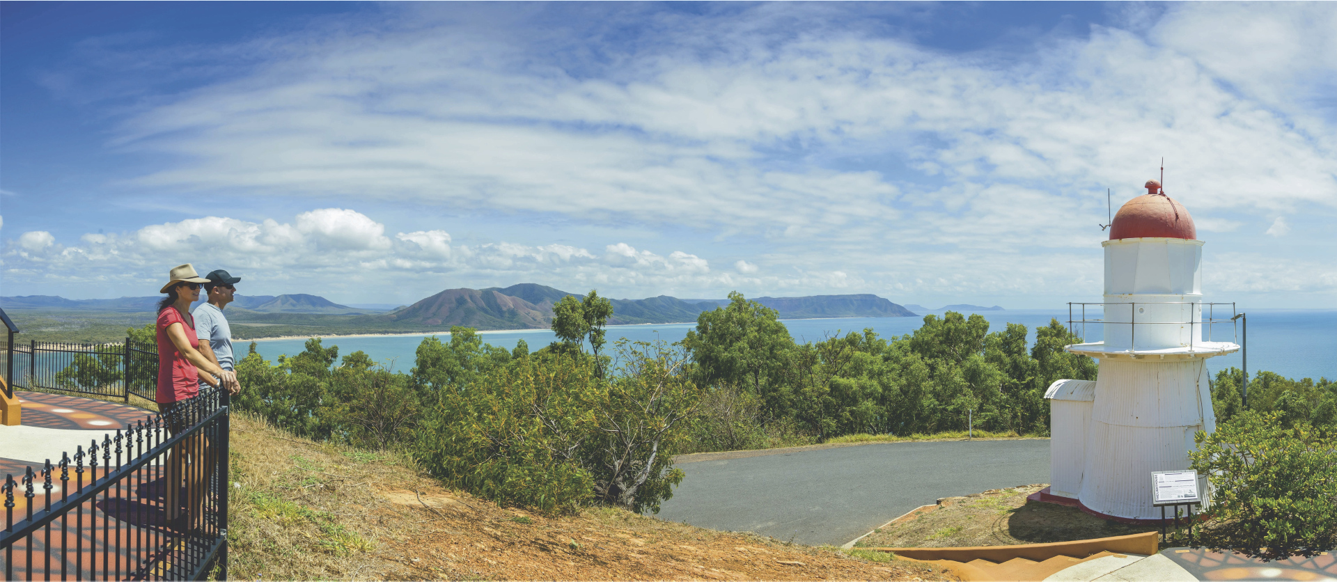 Aussichtspunkt in Cooktown