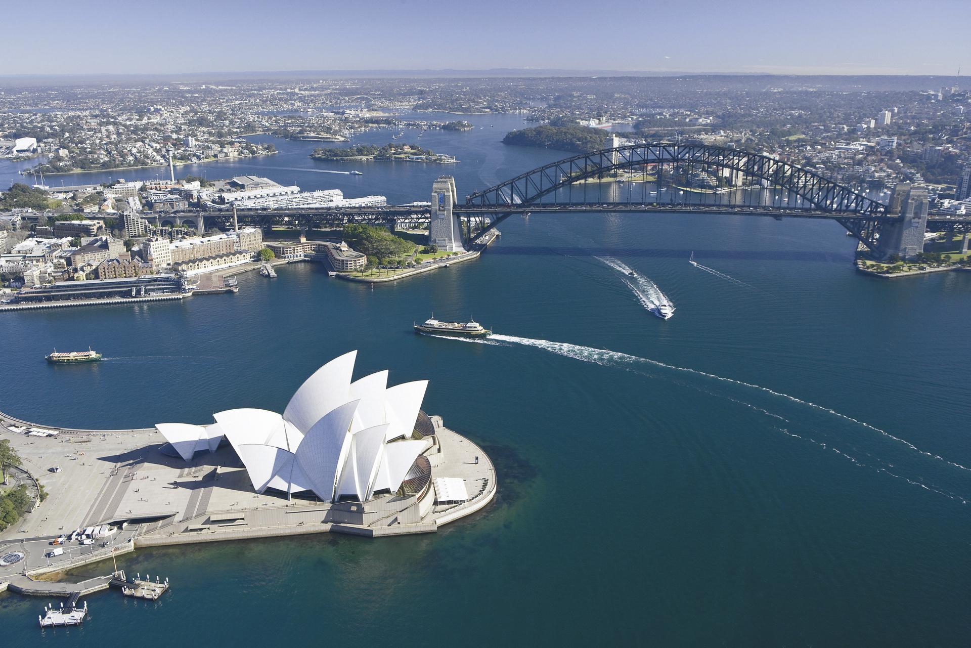 Der Hafen von Sydney, ©Joint copyright