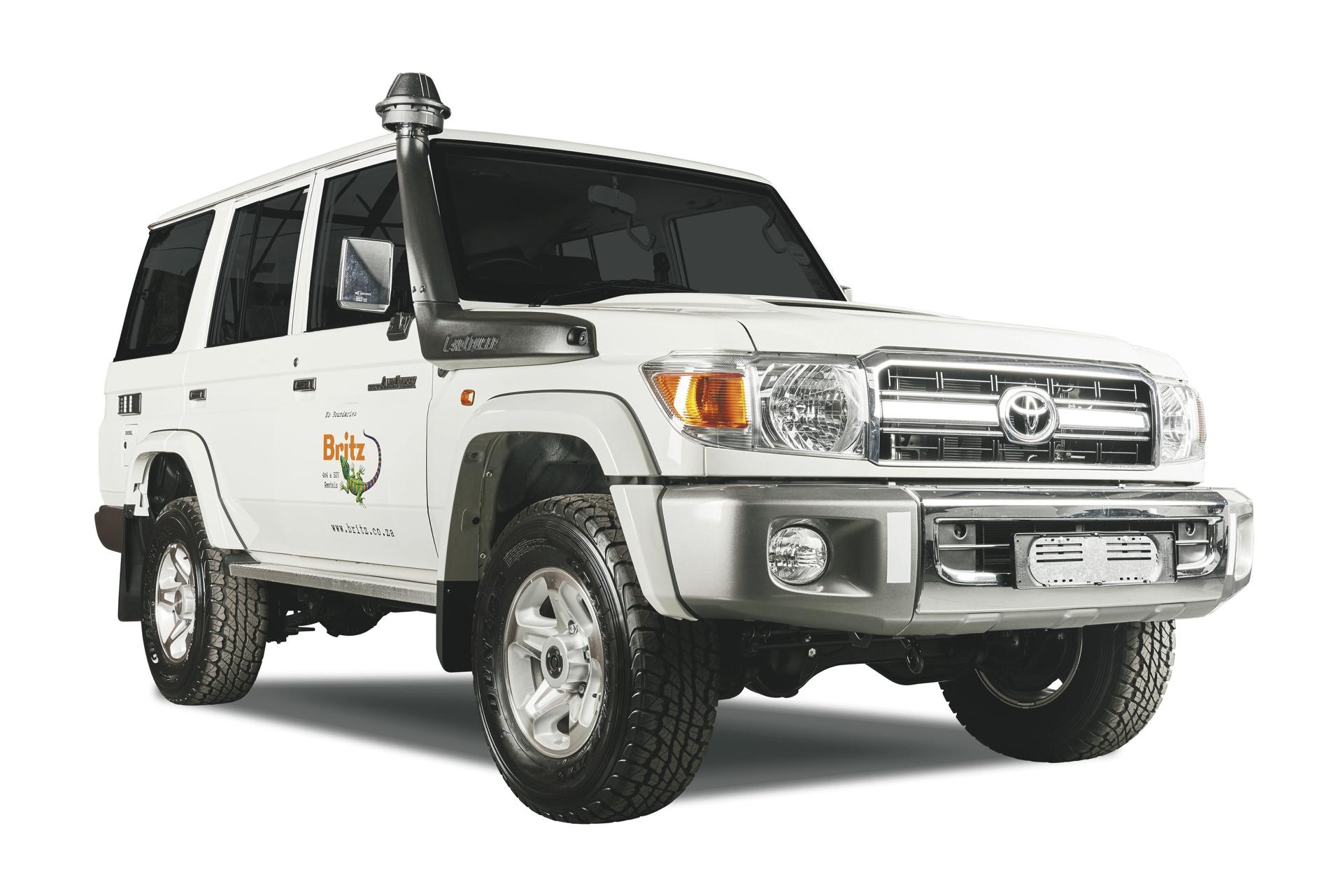 Britz 4x4 Toyota Landcruiser