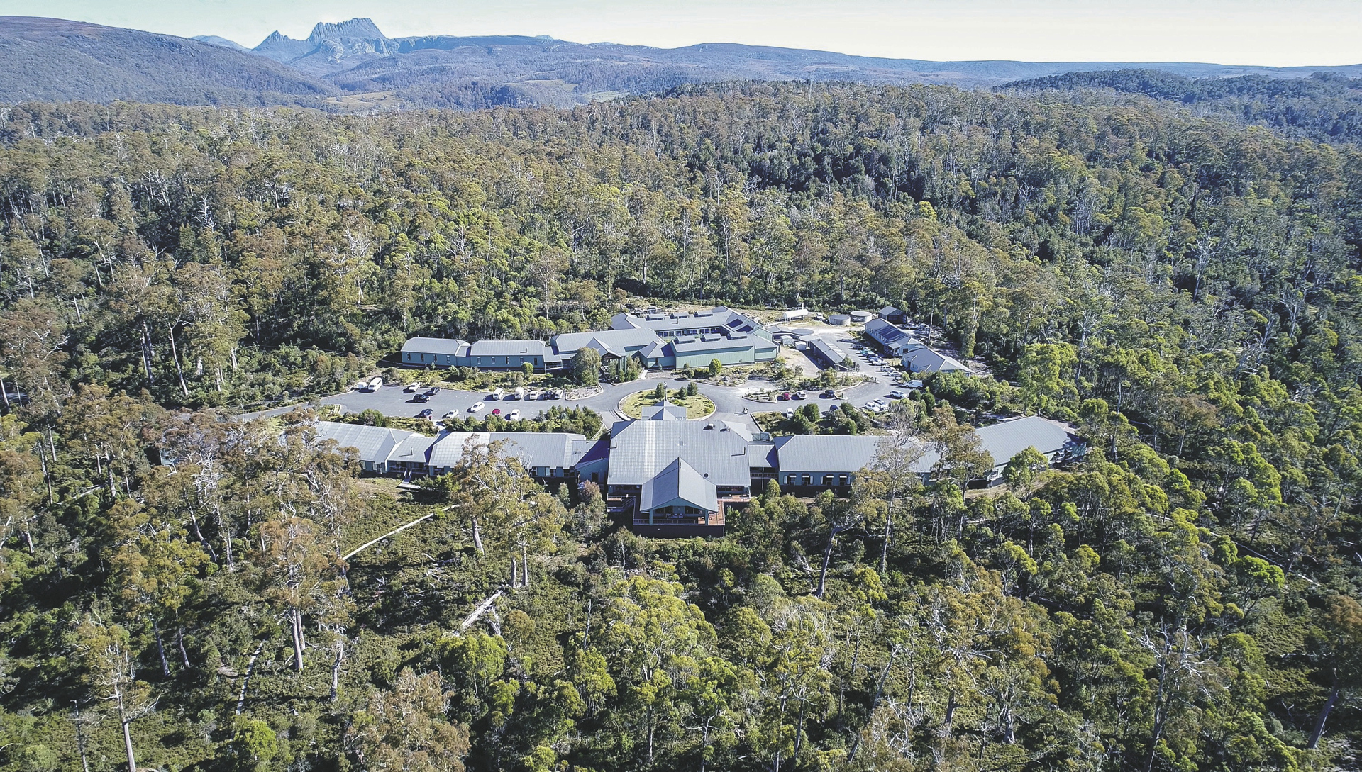 Cradle Mountain Hotel, ©@ohne