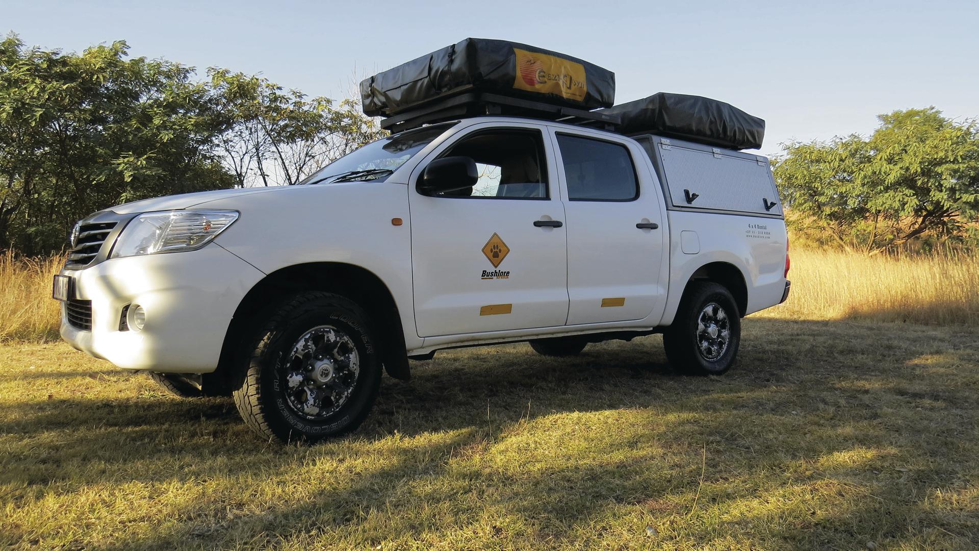Toyota Hilux 4x4 Camper (HilC4)