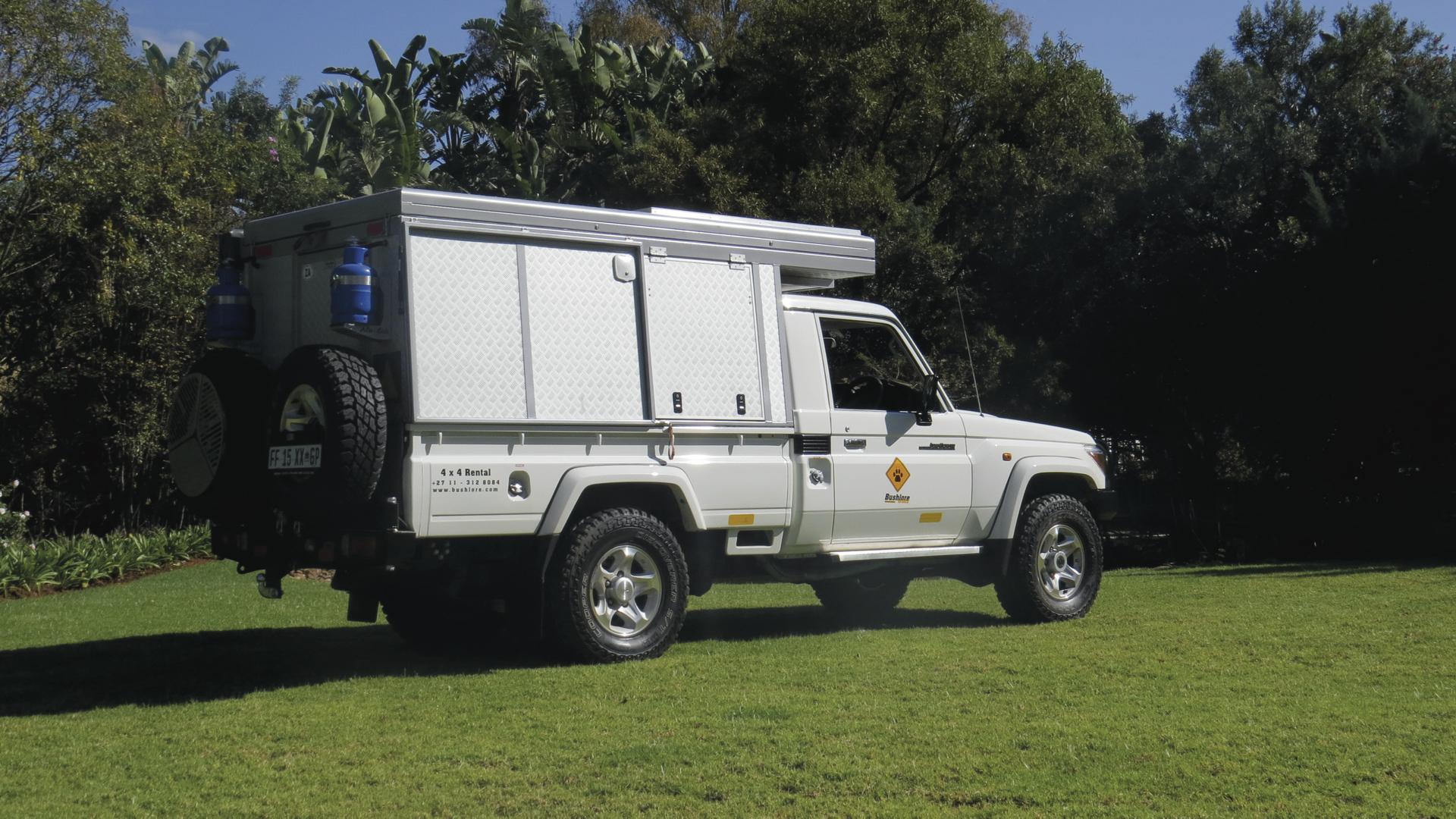 Landcruiser Bushcamper (CruCAM)