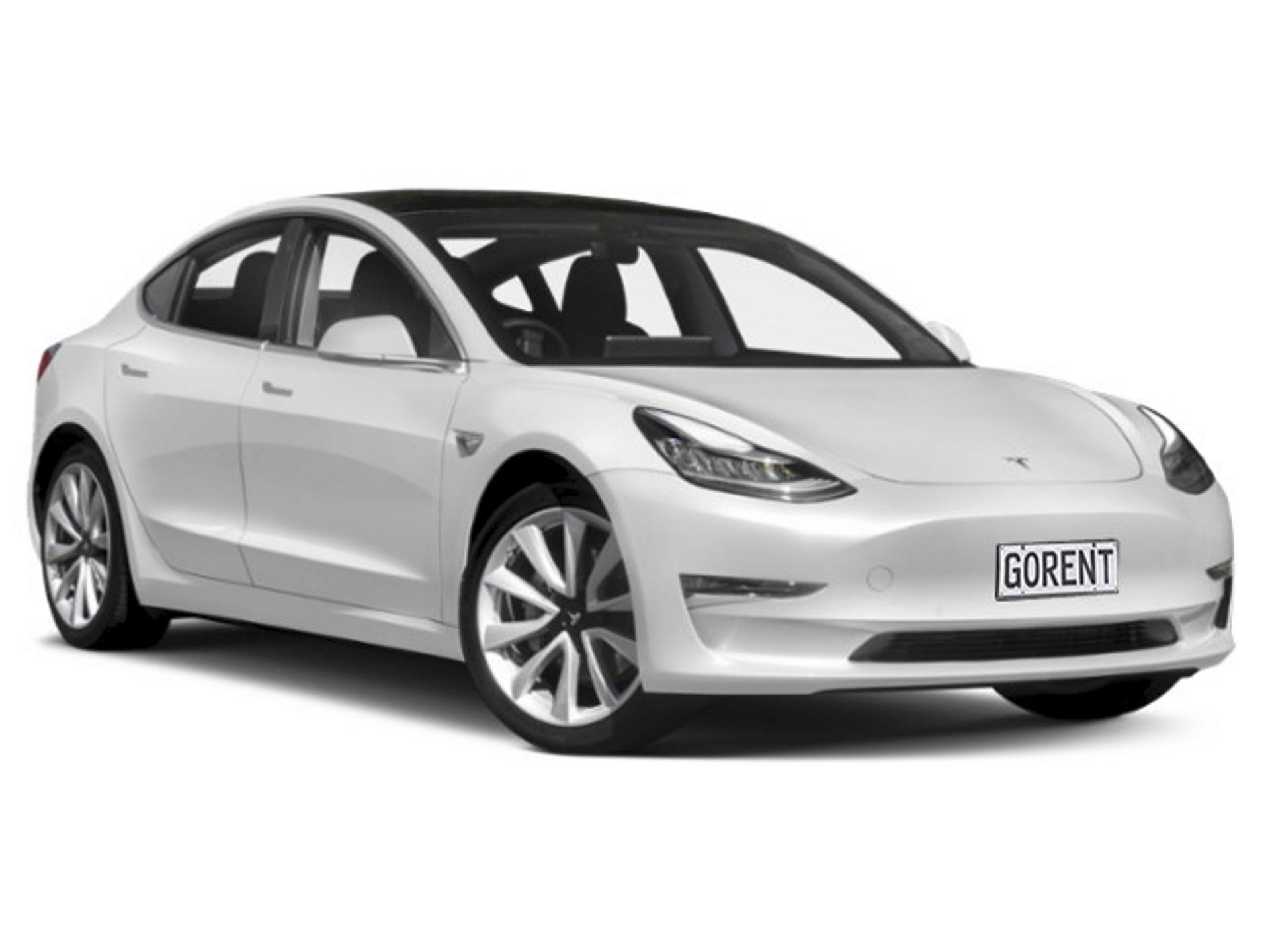 Electric: Tesla Model 3 o.ä.