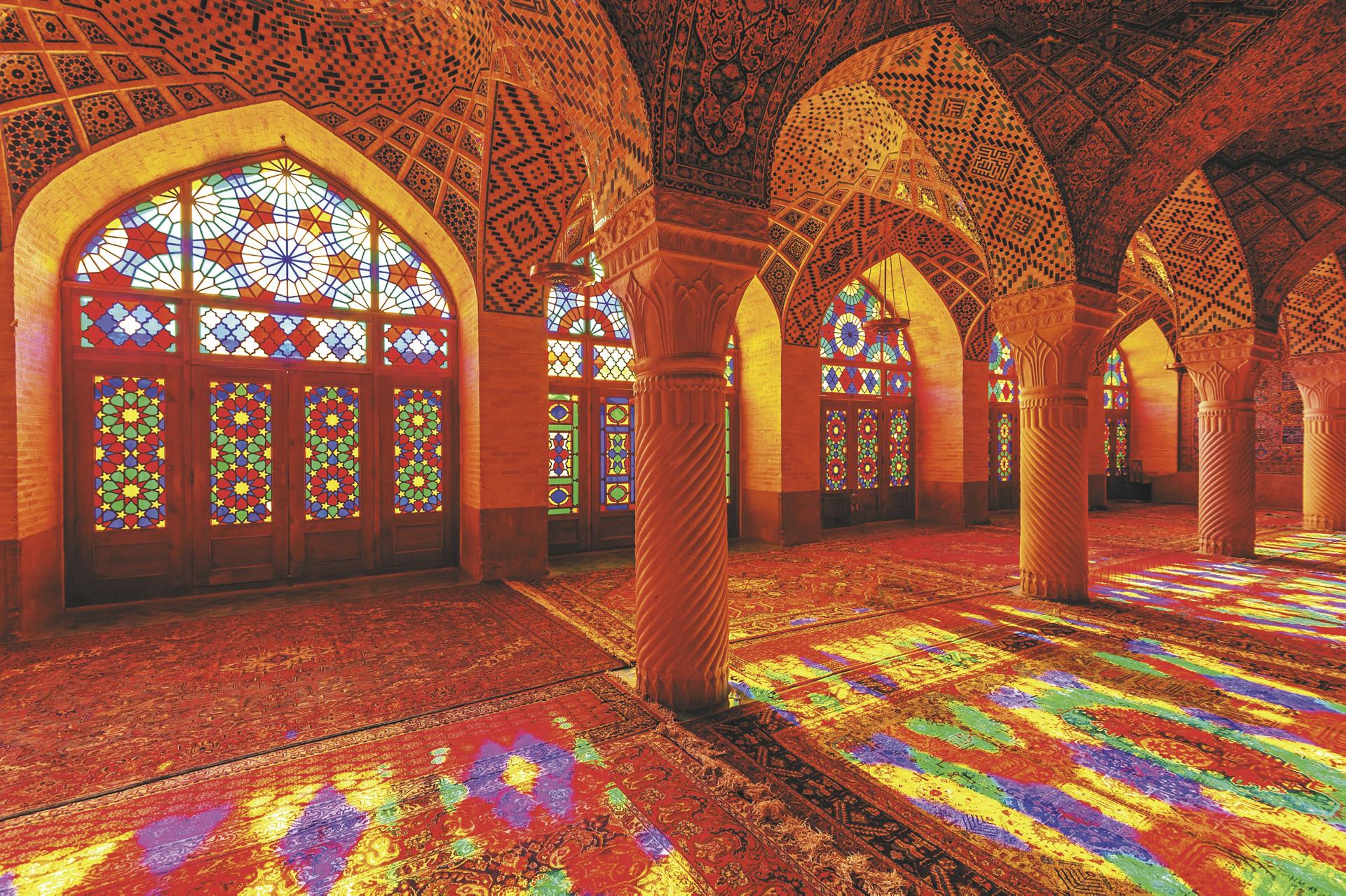 Iran, Shiraz, Nasir ol Molk Moschee - ©Fotolia, ©JPAaron - Fotolia